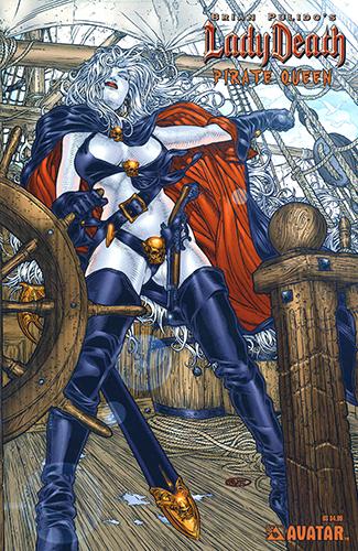 Комикс Леди Смерть: Королева Пиратов