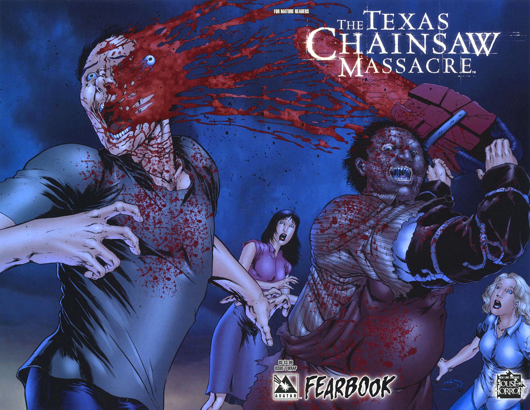 Комикс Техасская резня бензопилой - Книга страха