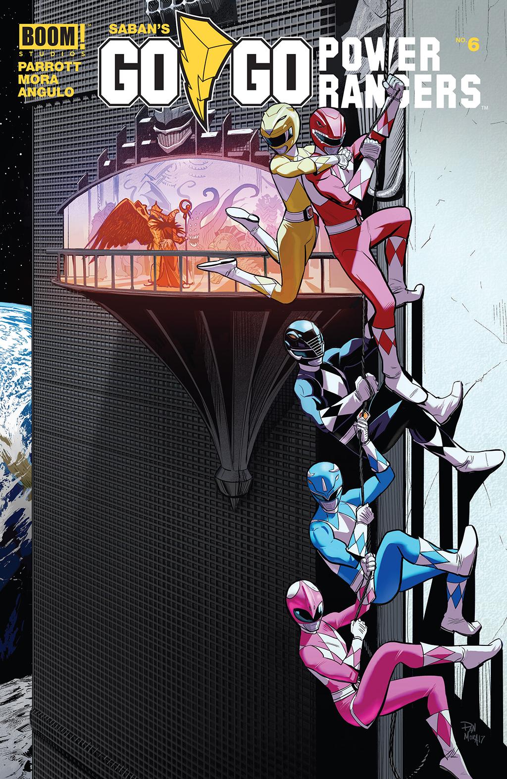 Комикс Могучие Рейнджеры: Вперед!