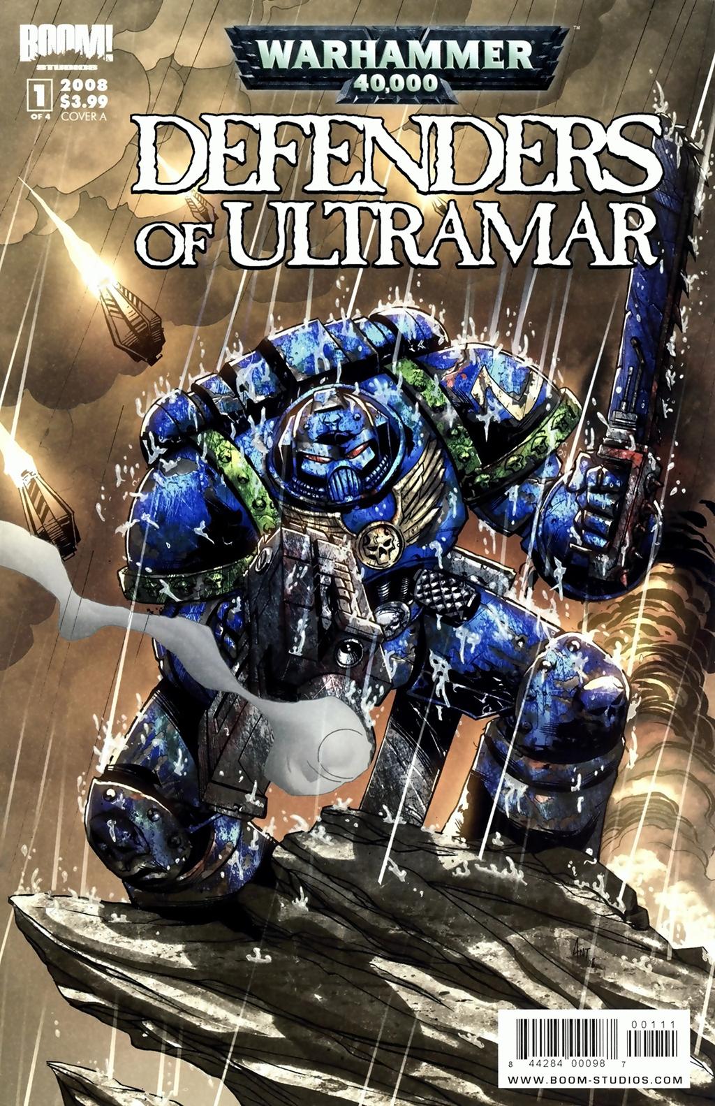 Комикс Вархаммер 40000 Защитники Ультрамара