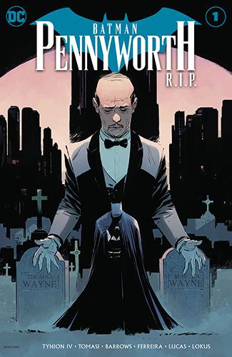 Комикс Бэтмен покойся с миром - Пенниуорт