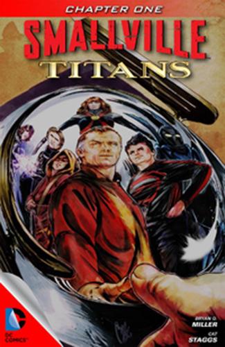 Комикс Тайны Смолвиля: Титаны