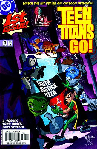 Комикс Юные Титаны Вперед!