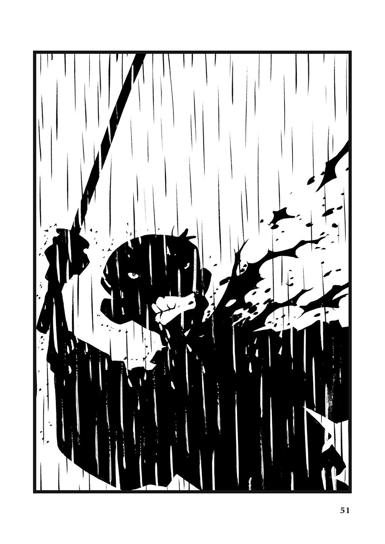Комикс 365 самураев и множество мисок риса