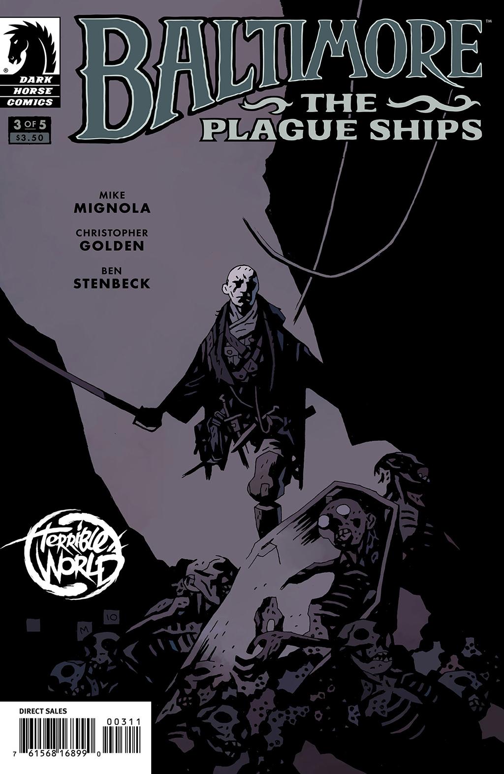 Комикс Балтимор: Чумные корабли