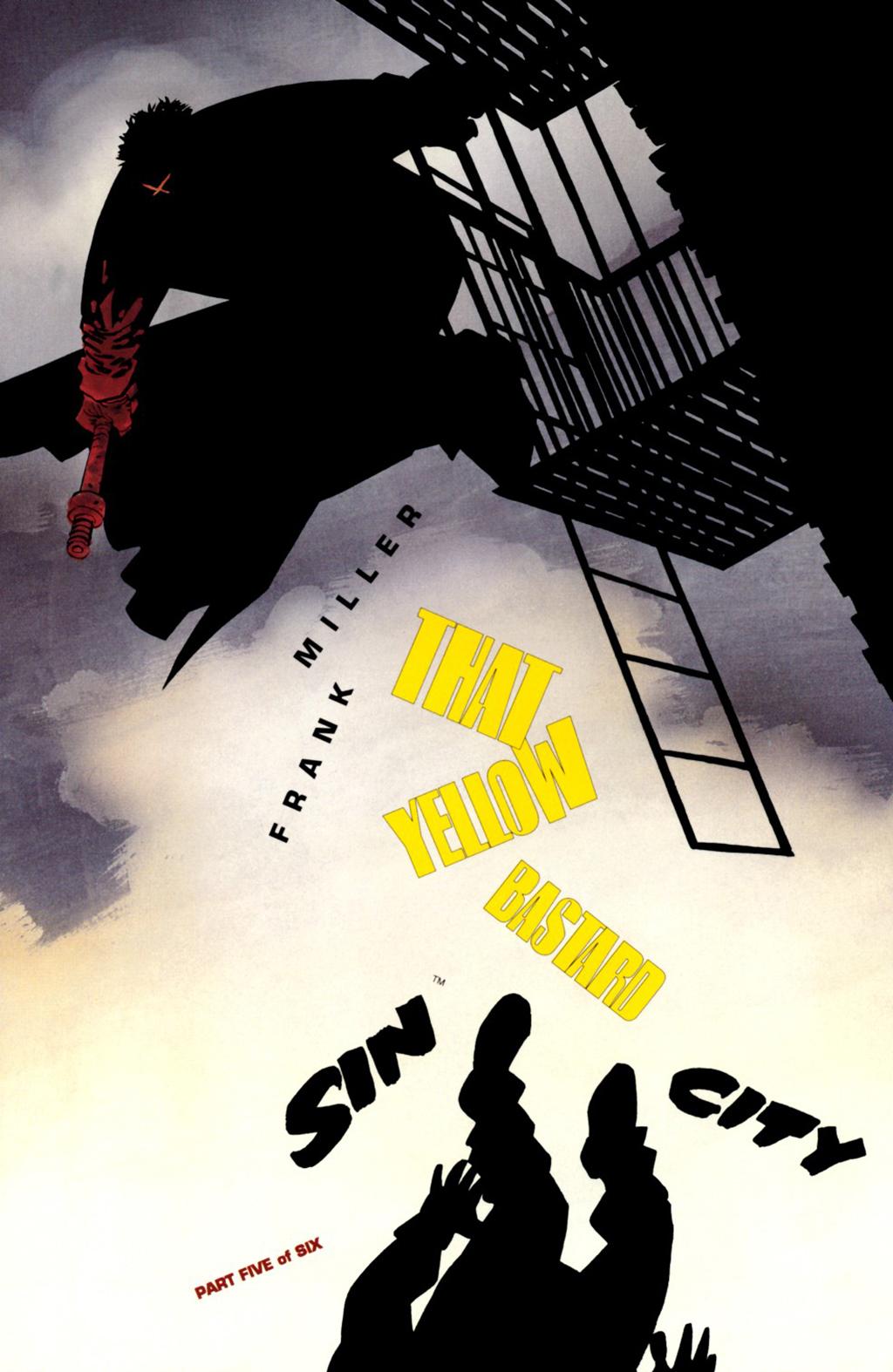 Комикс Город грехов: Тот желтый ублюдок