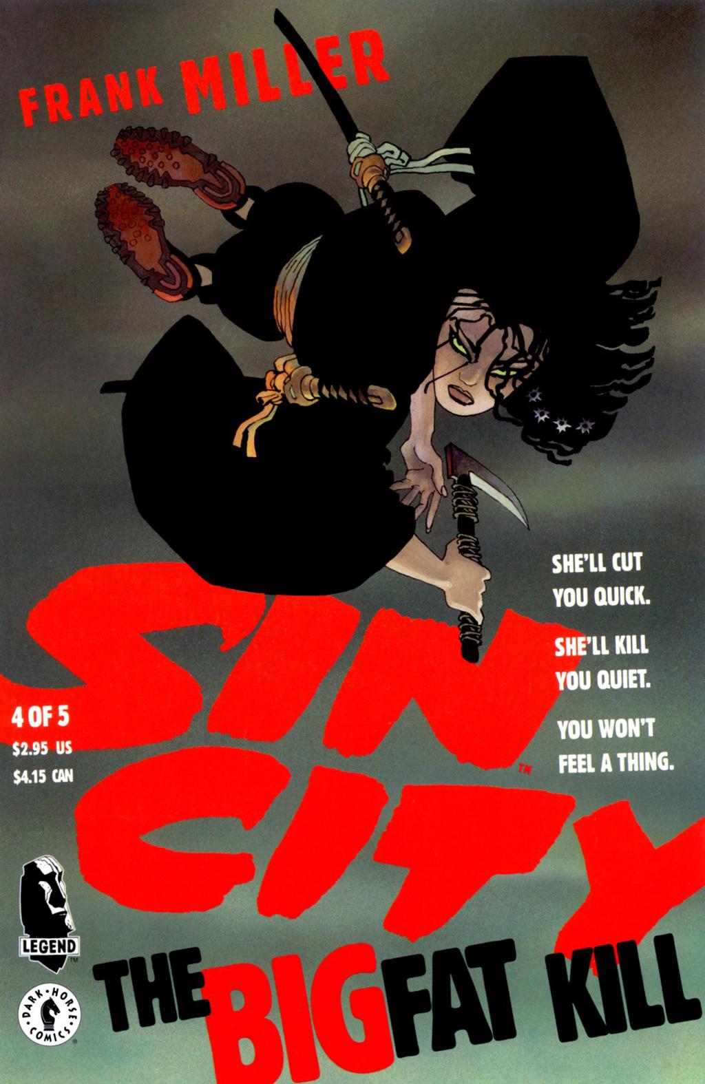 Комикс Город грехов: Резня по высшему классу