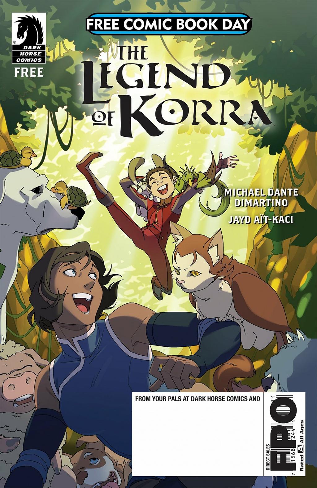 Комикс Легенда о Корре: День Бесплатных Комиксов