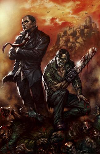 Комикс Армия Тьмы: Эш спасает Обаму