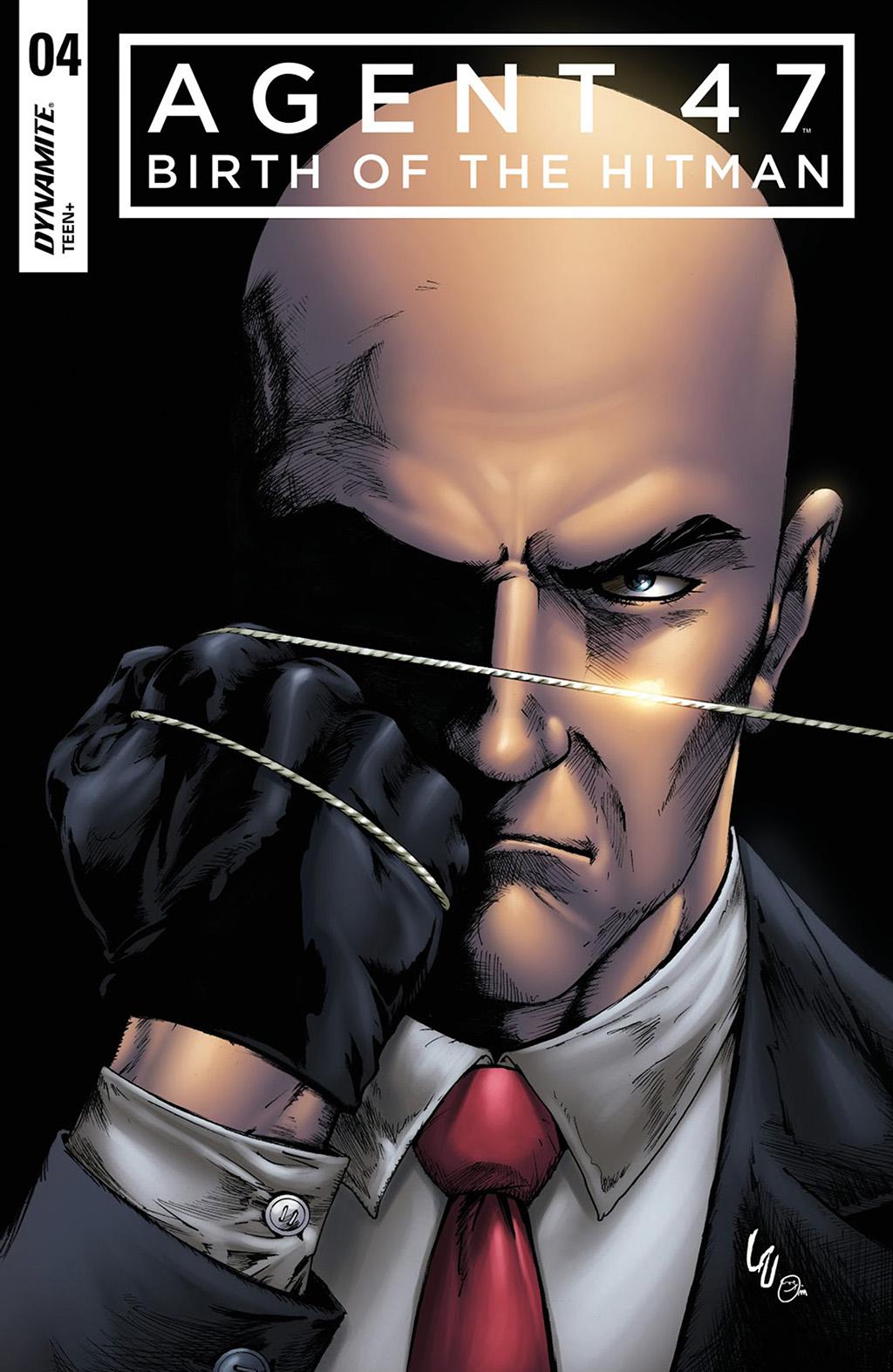 комикс Агент 47 - Рождение Хитмэна