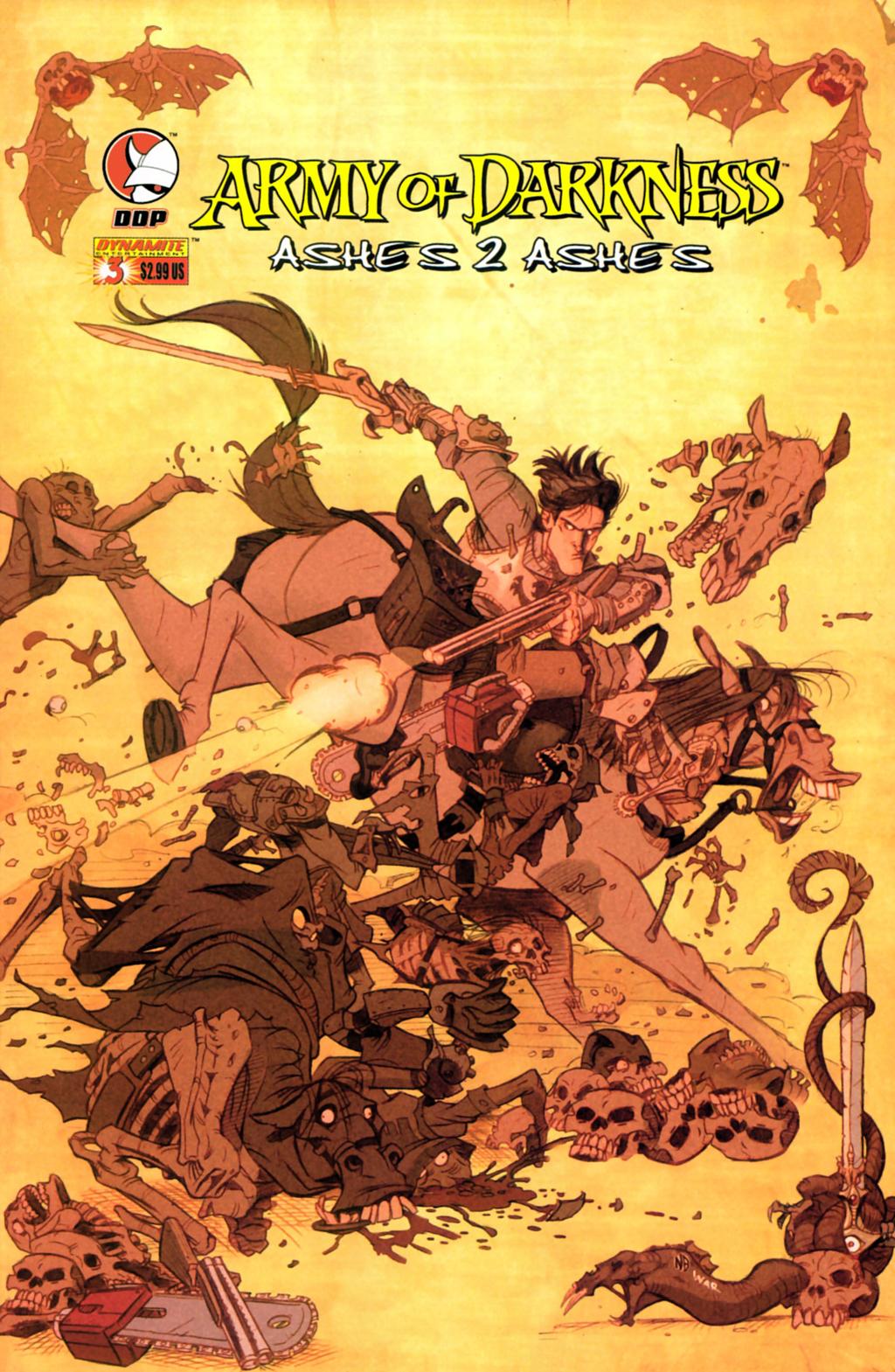 Комикс Армия Тьмы: Прах к Праху
