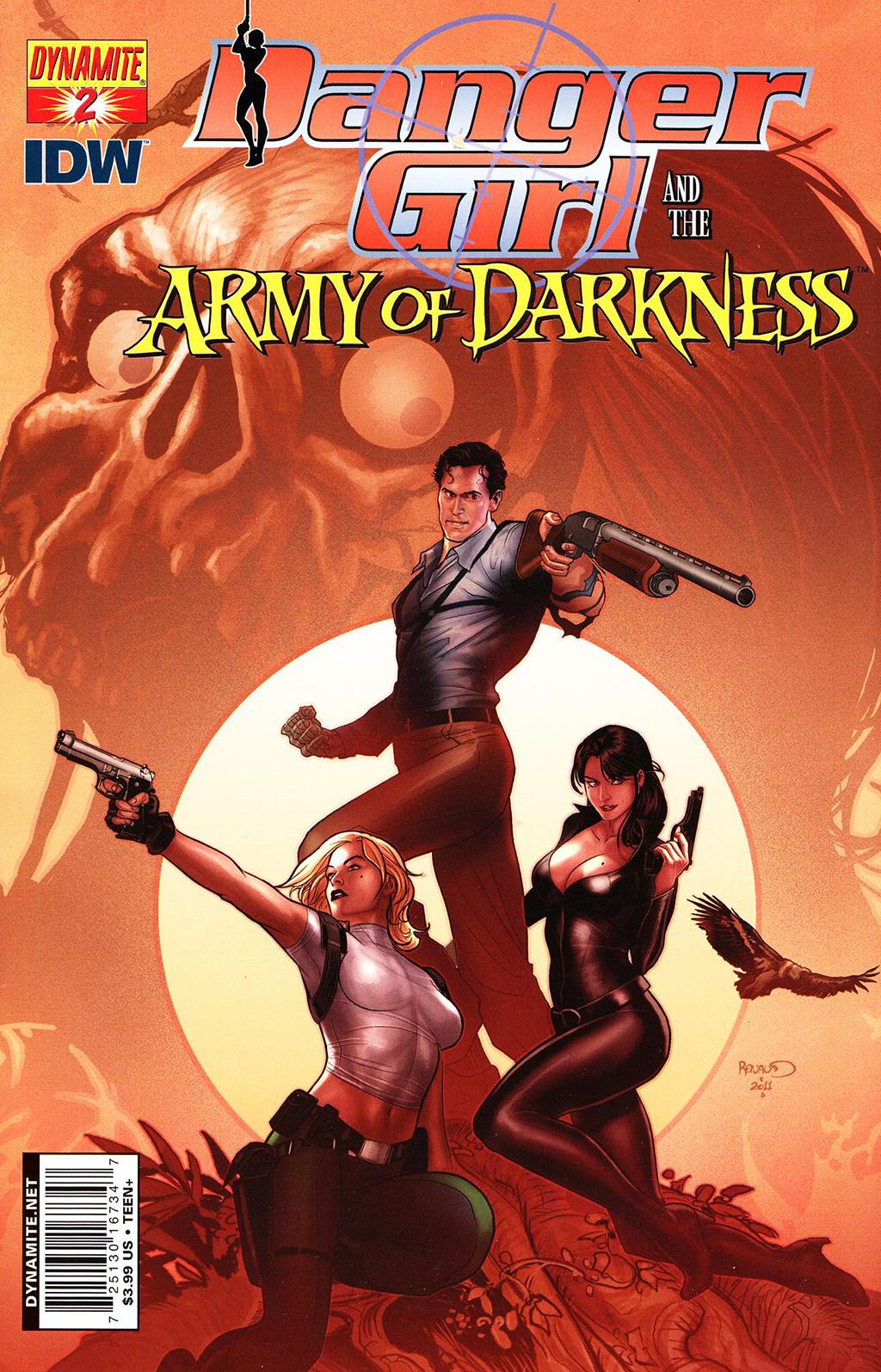 Комикс Опасная Девушка и Армия Тьмы