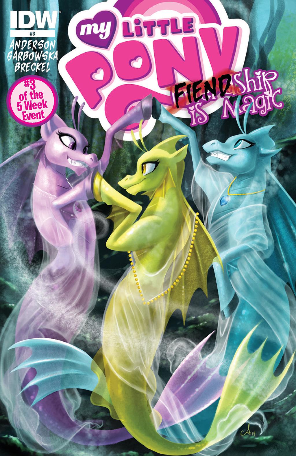 Комикс Мой Маленький Пони: Злодейство - это магия