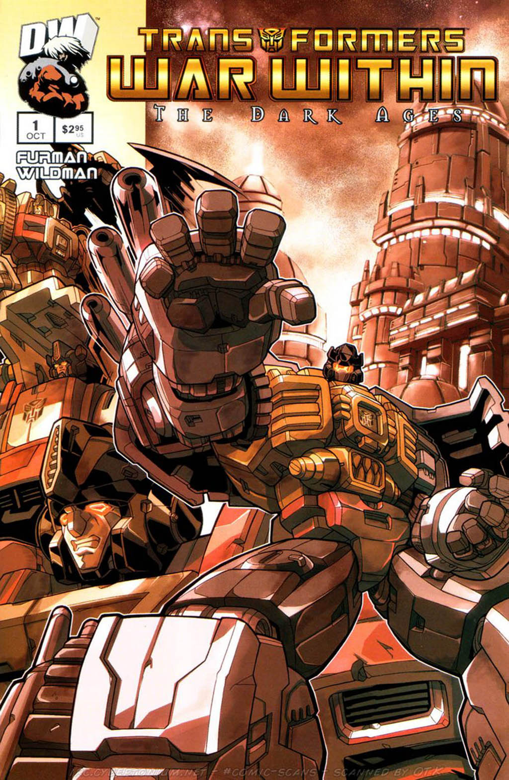 Комикс Трансформеры - Война Внутри - Темные Века