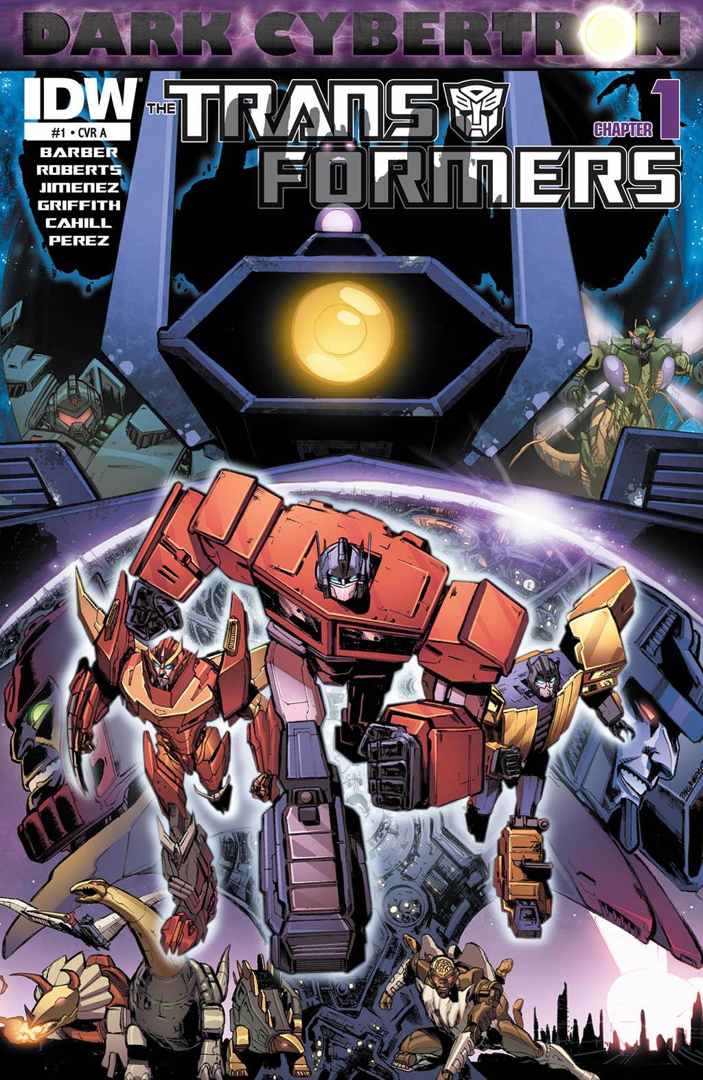 Комикс Трансформеры - Тёмный Кибертрон