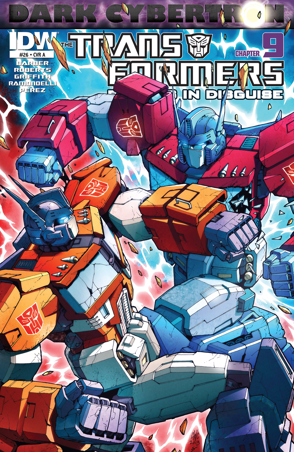 Комикс Трансформеры - Роботы под прикрытием