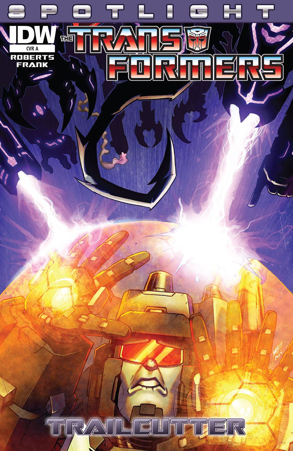 Комикс Трансформеры - В Центре Внимания