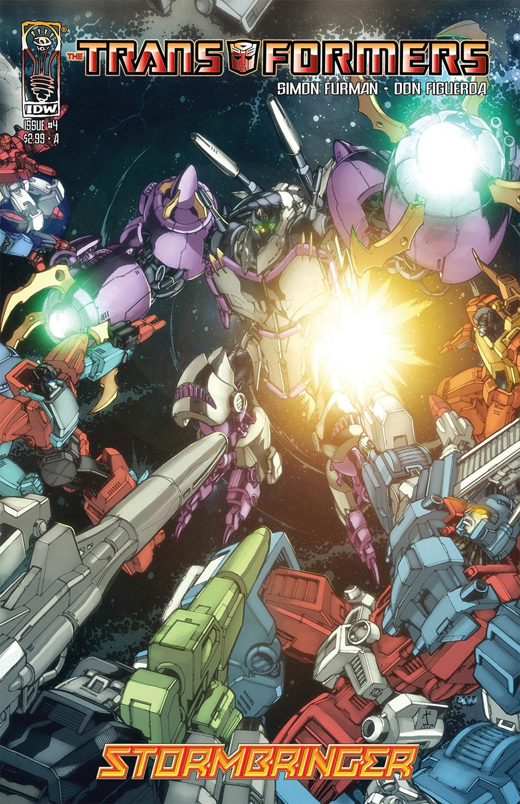 Комикс Transformers - Stormbringer