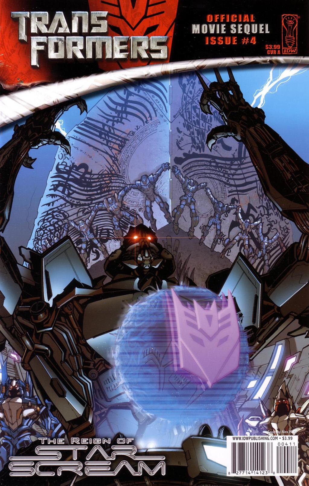 Комикс Трансформеры - Власть Старскрима