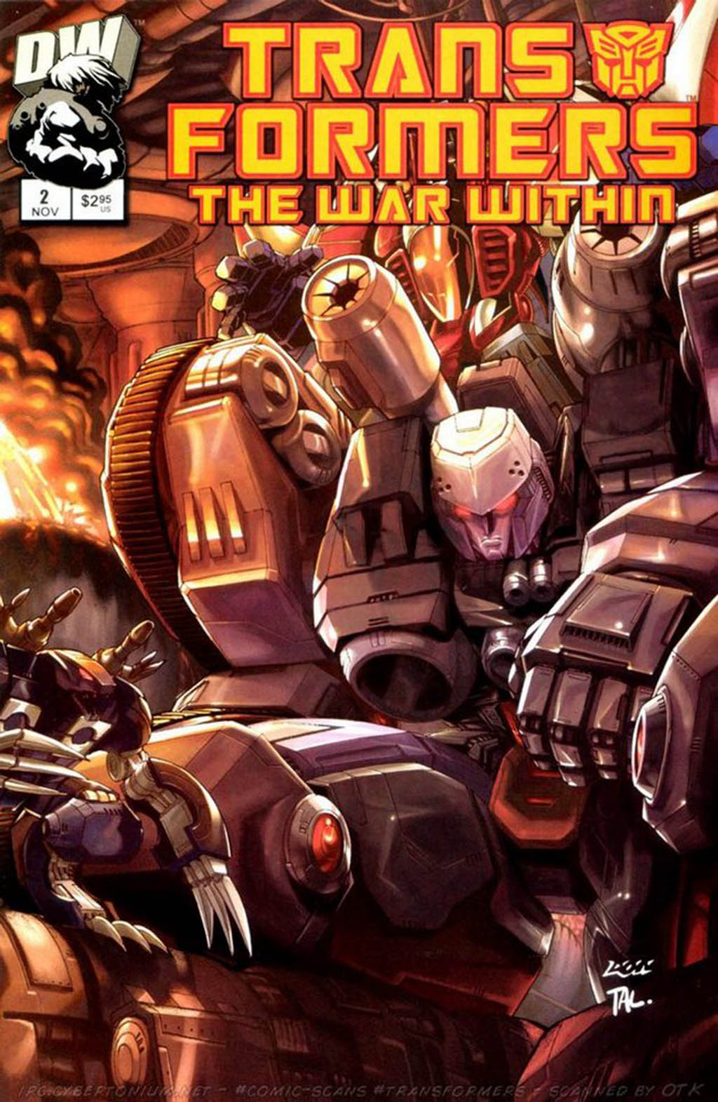 Комикс Трансформеры - Война Внутри