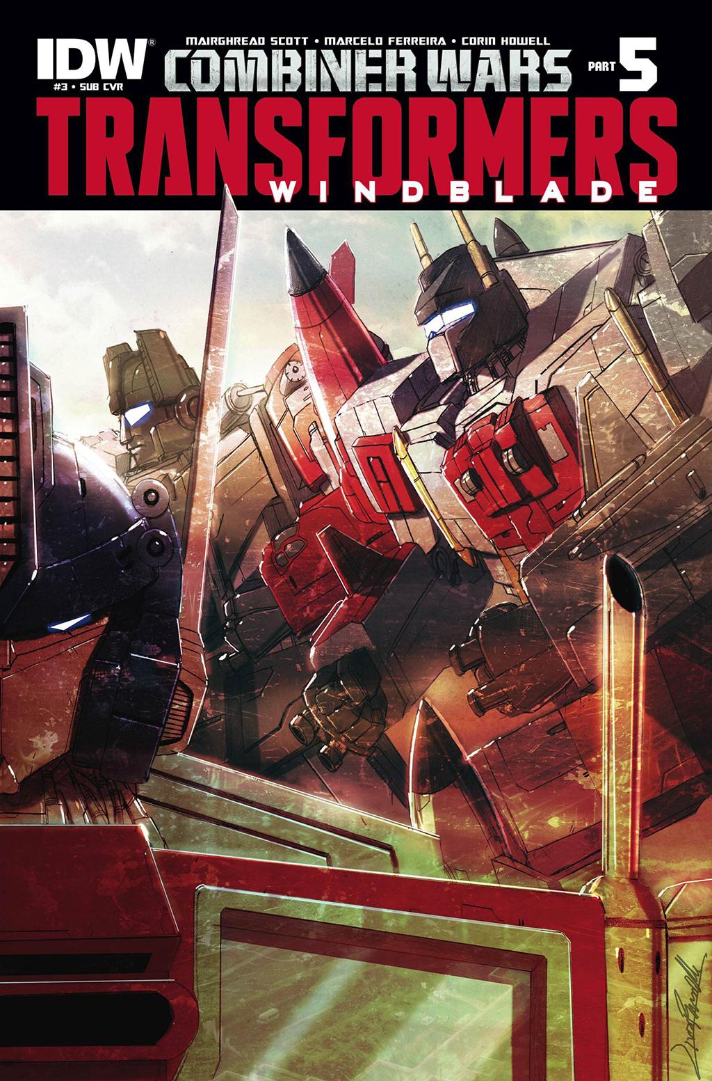 Комикс Трансформеры - Виндблейд - Войны Комбайнёров