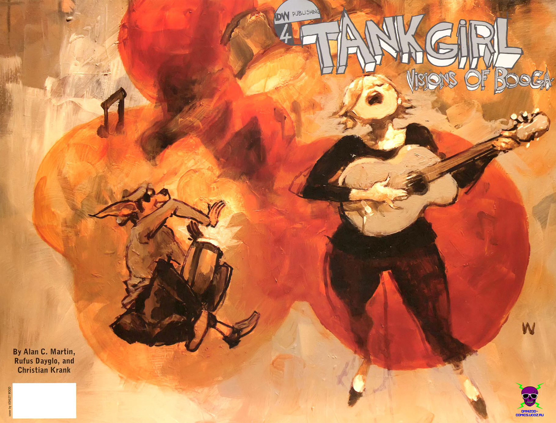 Комикс Танкистка: Хроники Буги