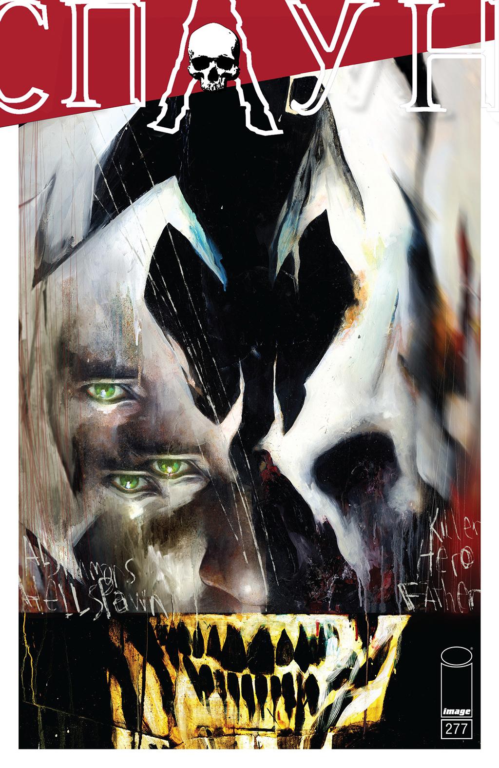 комикс Спайн Темный Ужас