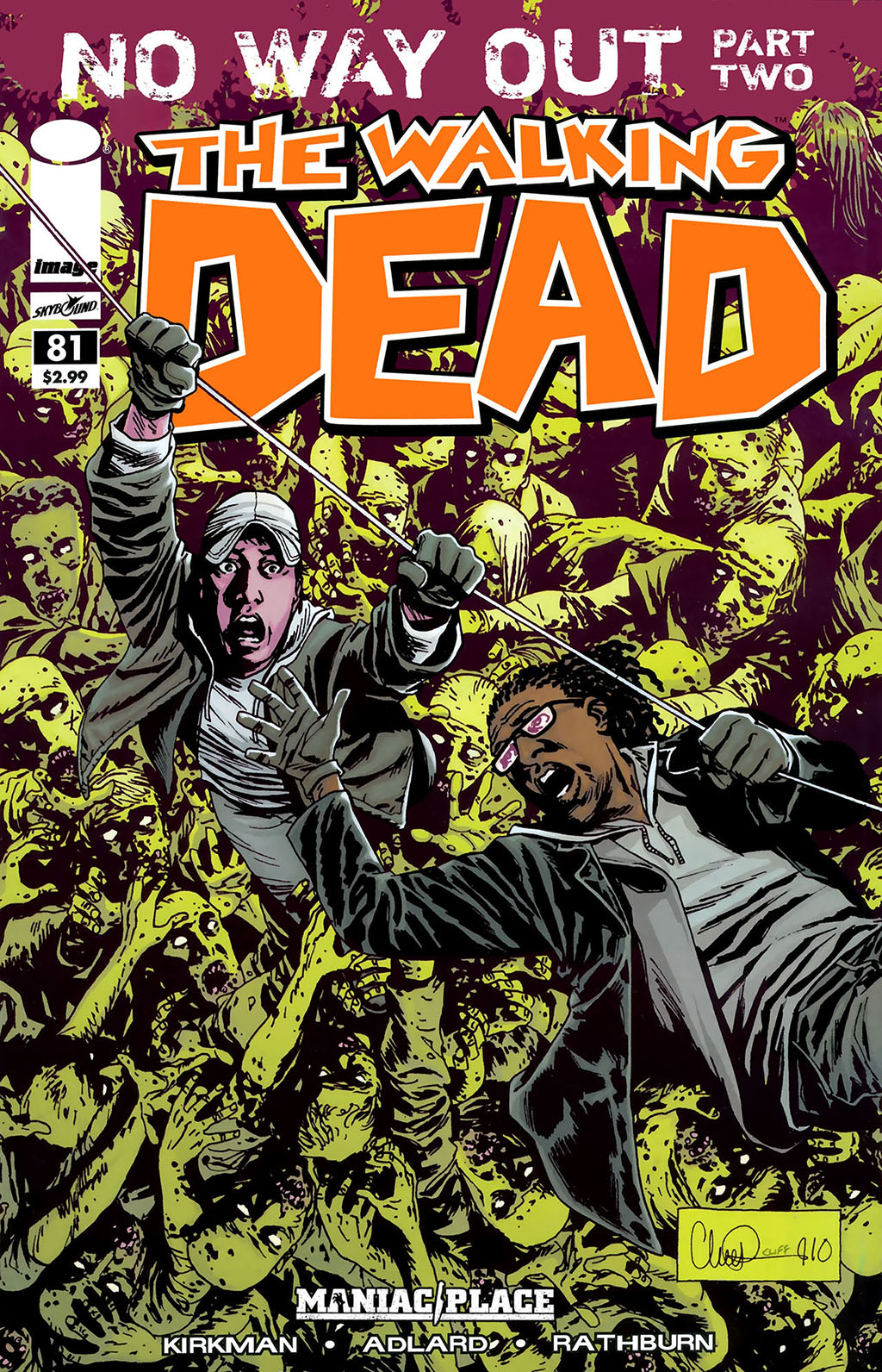 Комикс Ходячие Мертвецы