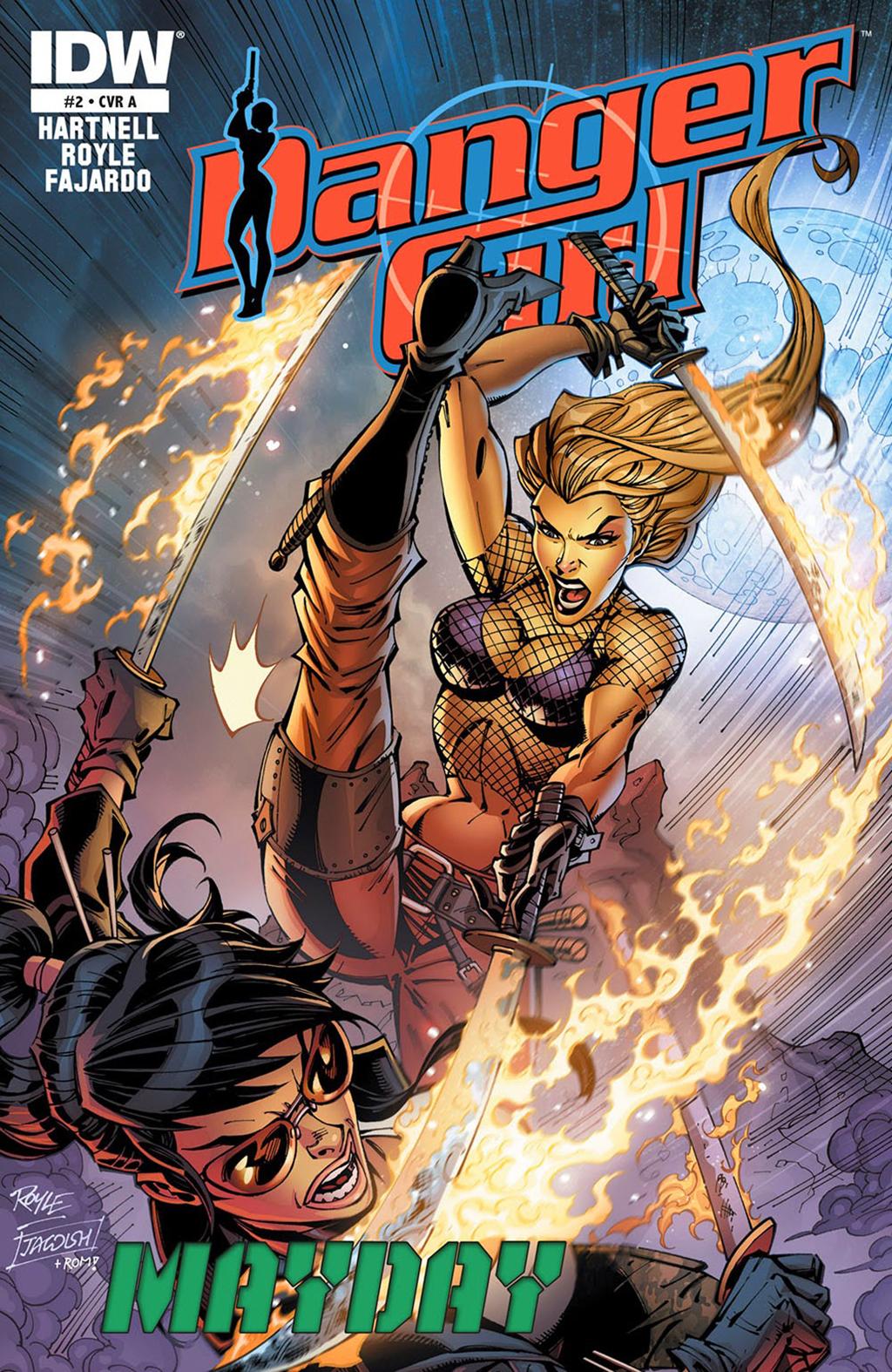 Комикс Опасная Девушка: Праздник Мая