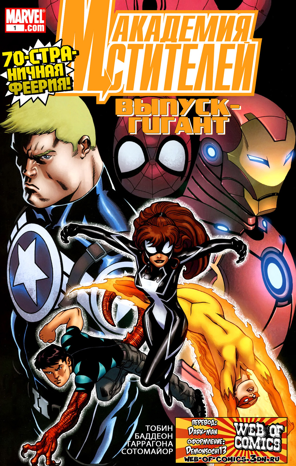 Академия Мстителей