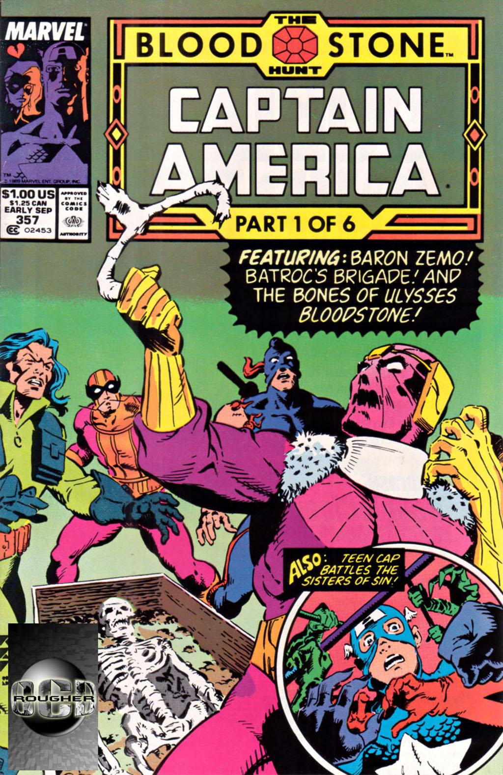 Комикс Капитан Америка том 1