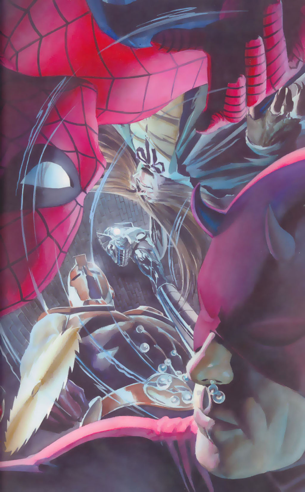 комикс Человек-паук/Сорвиголова