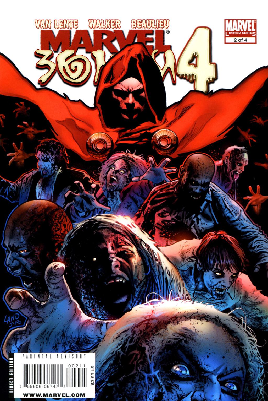 Комикс Зомби Марвел том 4
