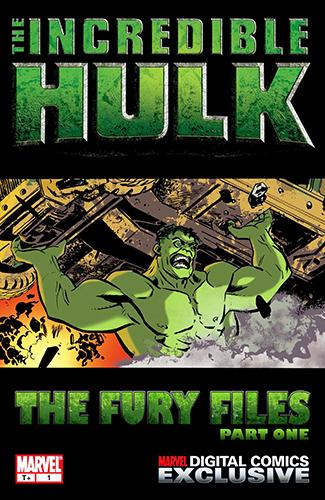 Комикс Невероятный Халк: Файлы Фьюри