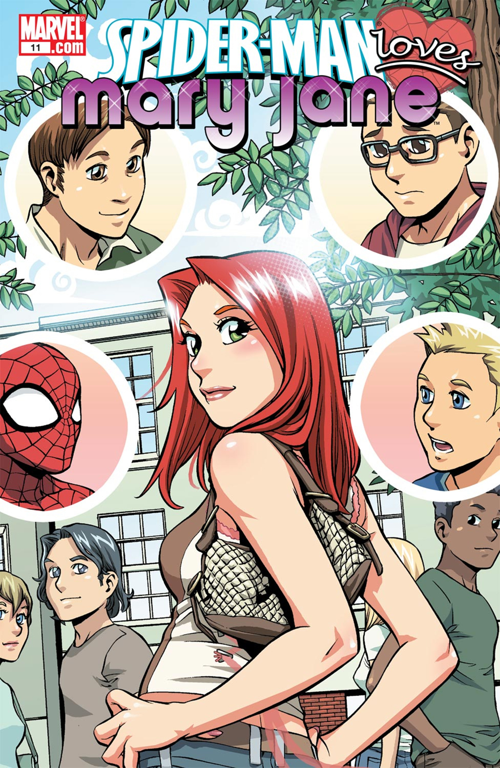 Комикс Человек-паук любит Мэри Джейн