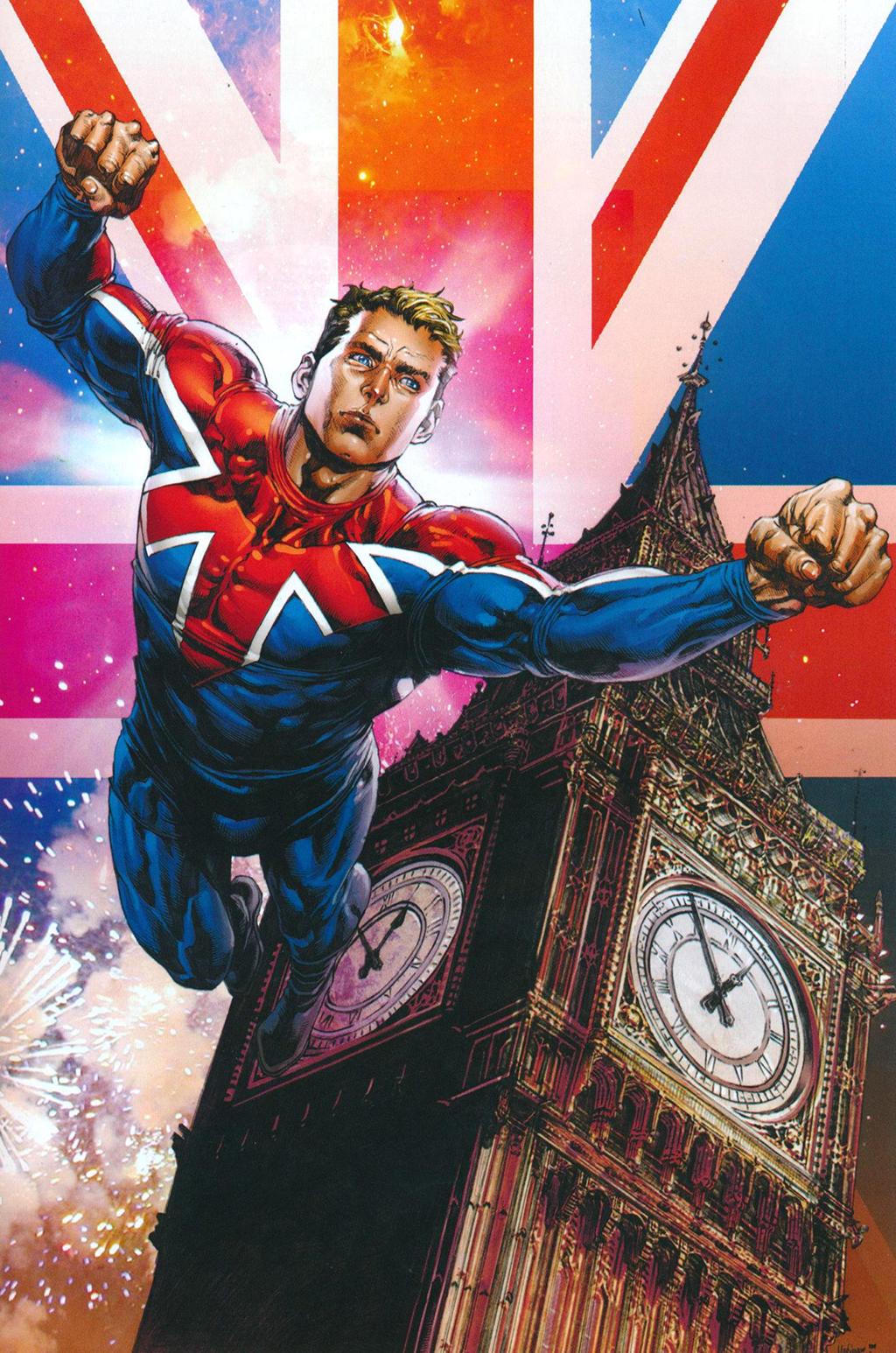 Комикс Капитан Британия и МИ-13