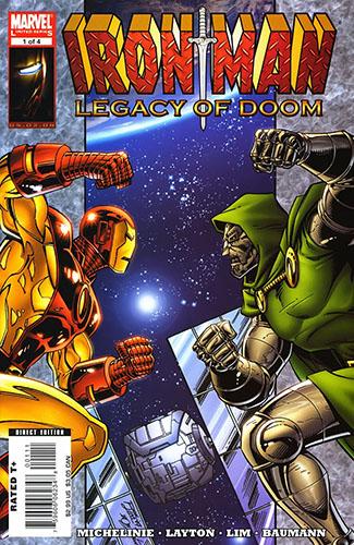 Комикс Железный Человек: Наследие Дума