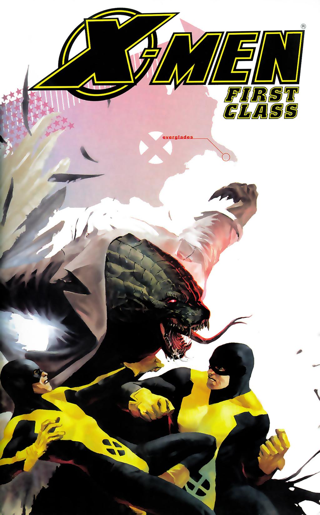 Комикс Люди-Икс: Первый Класс том 1