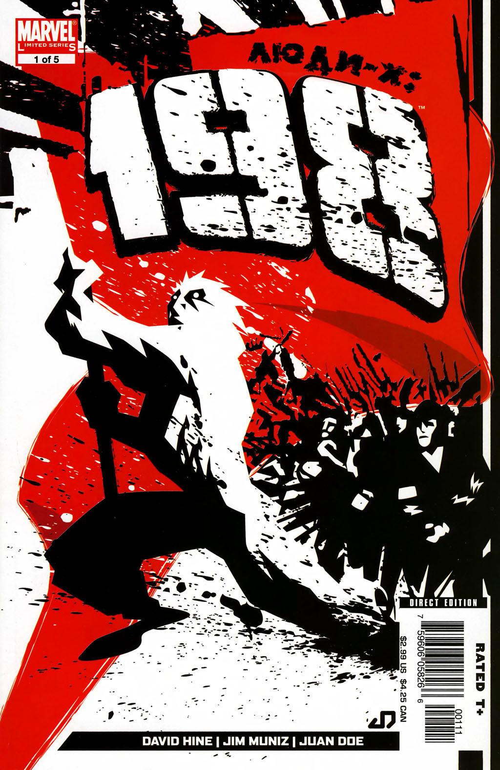 Комикс Люди-Икс 198
