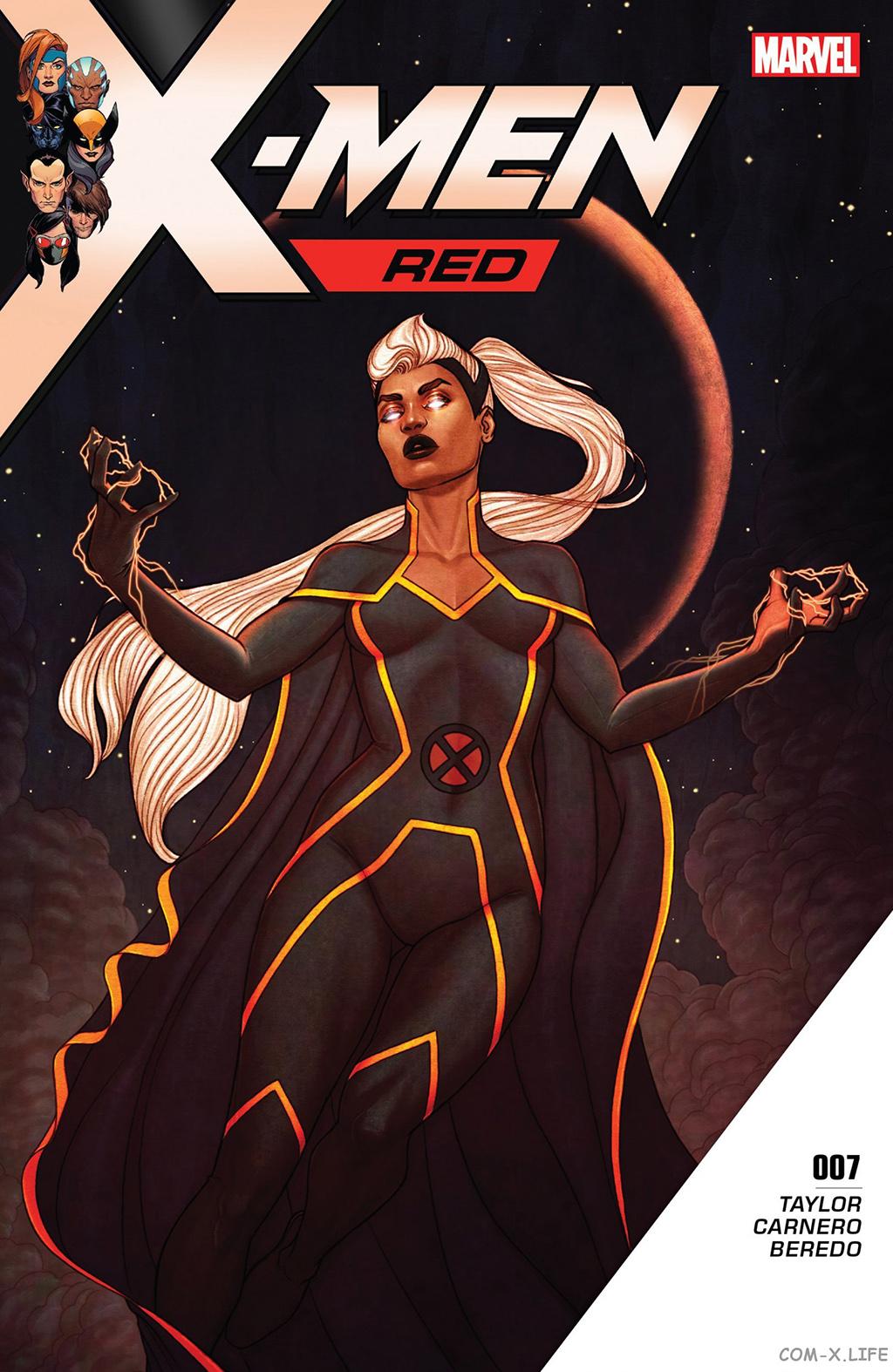 Комикс Люди Икс Красные