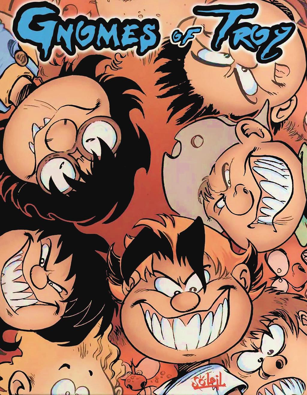 Комикс Гномы из Троя