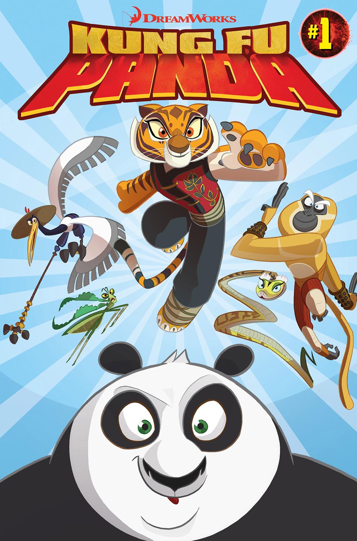Комикс Кунг-фу Панда 2015