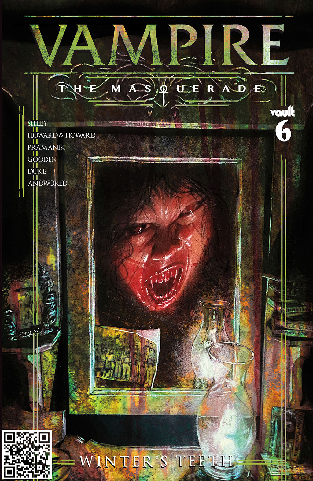 комикс Вампир - Маскарад - Зубы Зимы