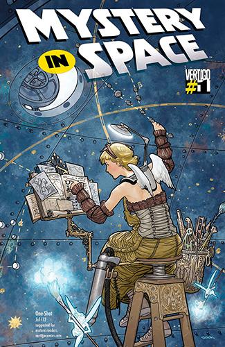 Комикс Тайны Вселенной