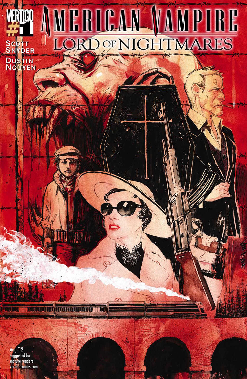 Комикс Американский Вампир: Лорд Кошмаров