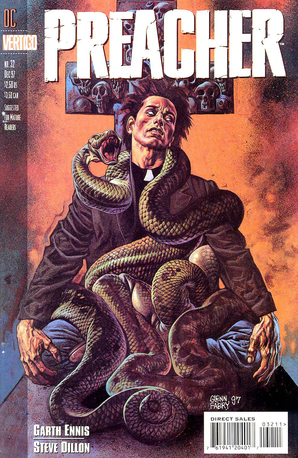 Комикс Проповедник