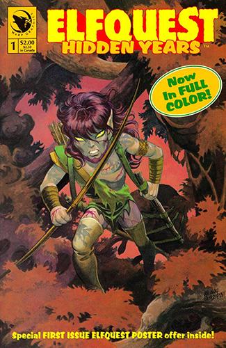Комикс Сага о Лесных Всадниках: Потаённые Годы