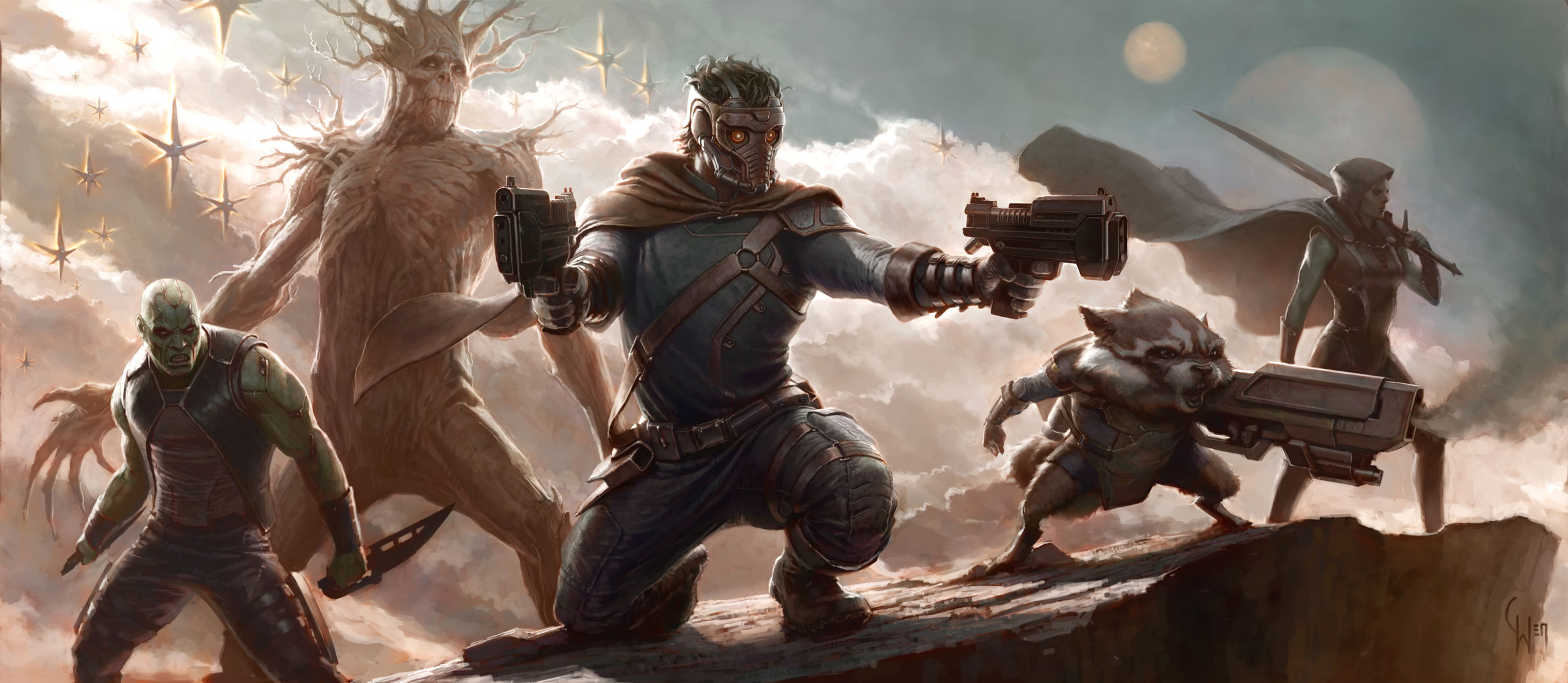 Комикс Стражи Галактики, Guardians of the Galaxy.