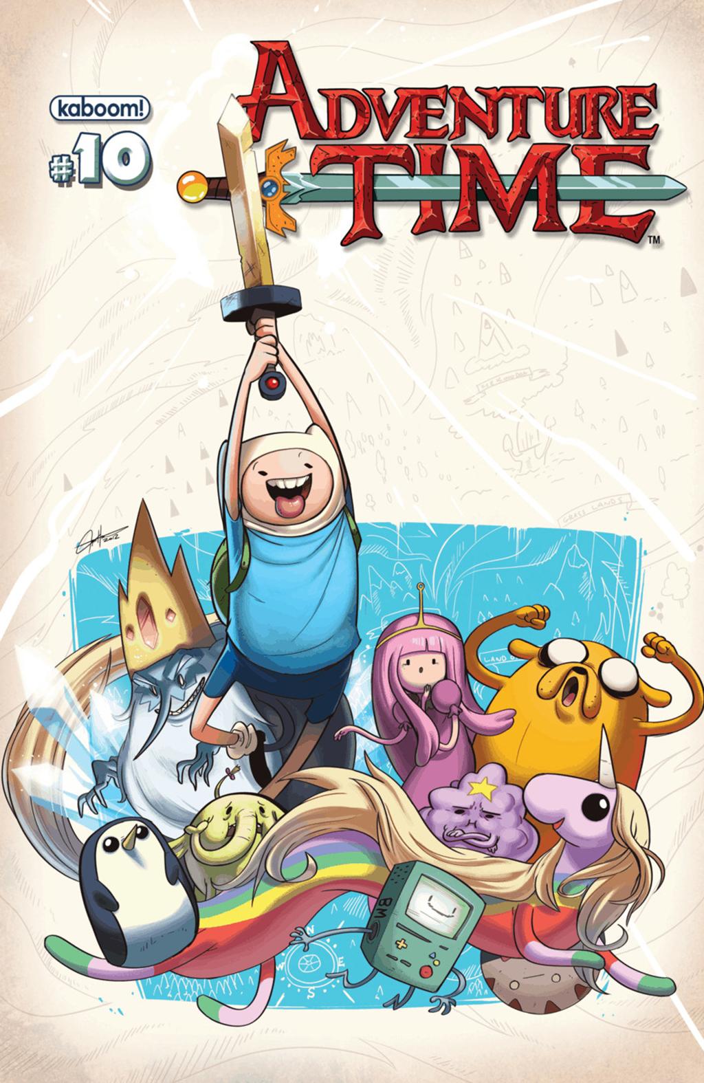 Комикс Время приключений