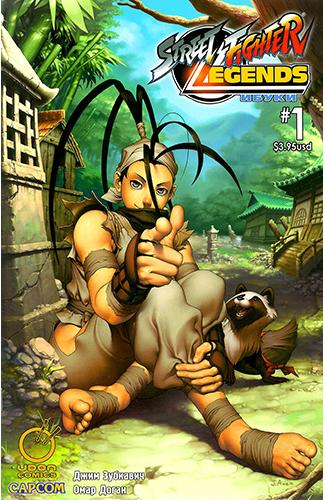 Комикс Легенды Уличного Бойца: Ибуки